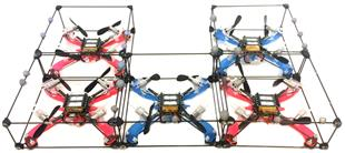 A Decentralized Algorithm for Self Assembling Structures with Modular Robots