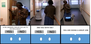 Evaluating Older Adults' Interaction with a Mobile Assistive Robot