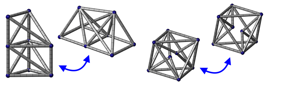 Variable Topology Truss: Concept, Design and Analysis