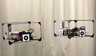 ModQuad-Vi: A Vision-Based Self-Assembling Modular Quadrotor