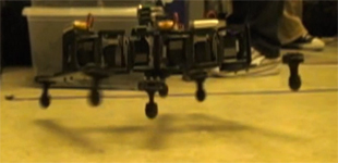 Dynamic Locomotion of CKBot