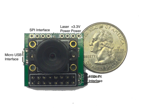 Low-cost Laser Range Finder Electronics