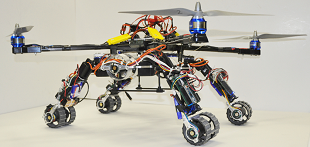 Hybrid Exploration Robot for Air and Land Deployment (H.E.R.A.L.D)